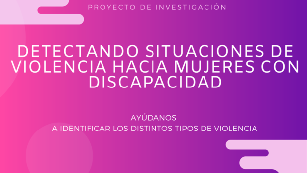Si eres mujer con discapacidad, te animamos a participar en nuestro estudio para prevenir y detectar situaciones de violencia desde desde todos los ámbito y se acude al sanitario.Tu colaboración […]